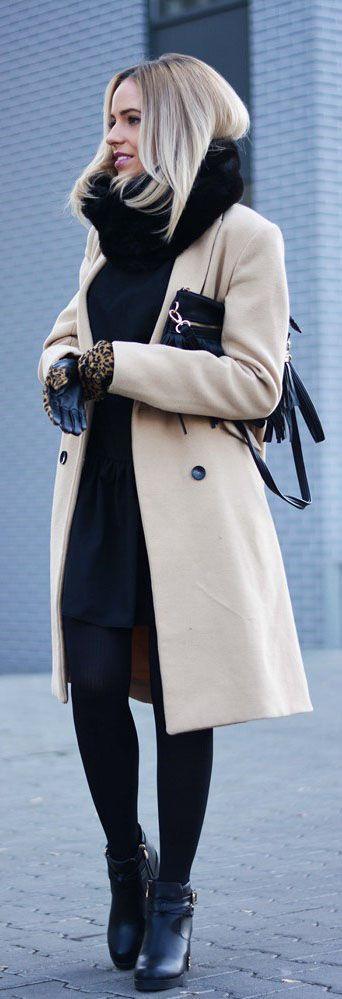 outfits invierno7 - Outfits Para Invierno Que Te Harán Lucir Siempre Bella