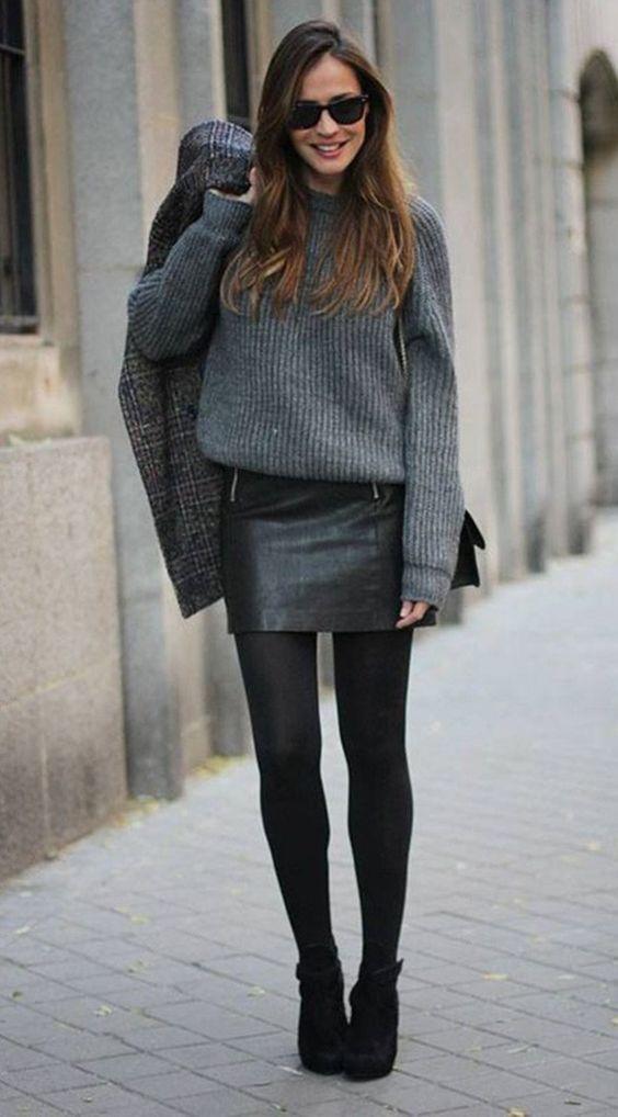 outfits invierno8 - Outfits Para Invierno Que Te Harán Lucir Siempre Bella