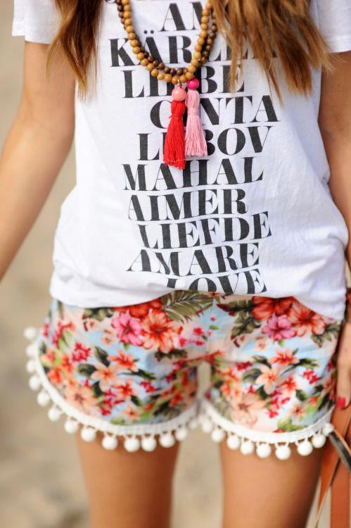 shorts de hilos para verano - Outfits Con Shorts Para Esta Semana Santa