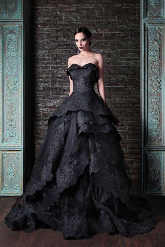 vestidos de novia de colores10 - Hermosos Vestidos De Novia De Colores Que Amaras