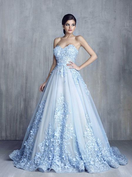 vestidos de novia de colores13 - Hermosos Vestidos De Novia De Colores Que Amaras