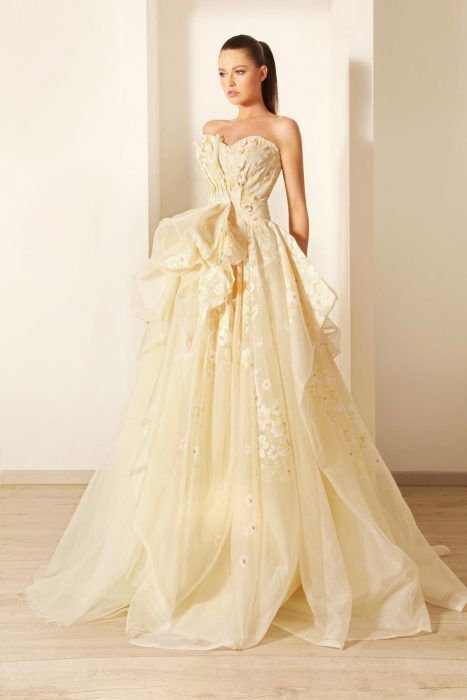 vestidos de novia de colores14 - Hermosos Vestidos De Novia De Colores Que Amaras