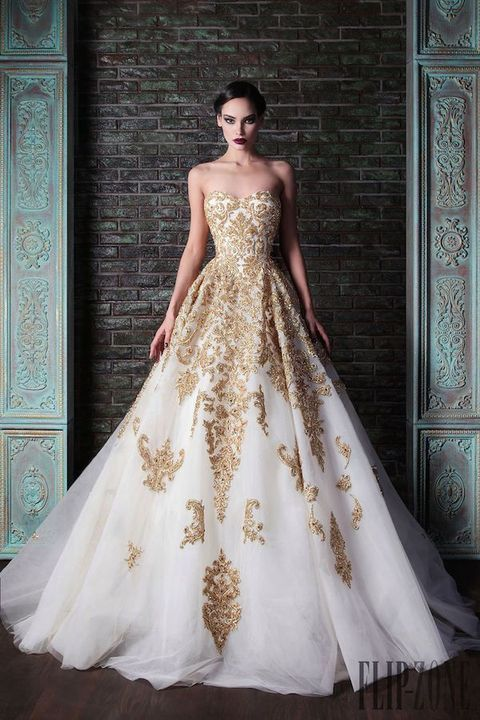 vestidos de novia de colores4 - Hermosos Vestidos De Novia De Colores Que Amaras
