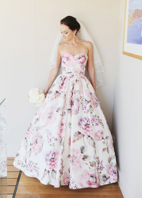 vestidos de novia de colores7 - Hermosos Vestidos De Novia De Colores Que Amaras