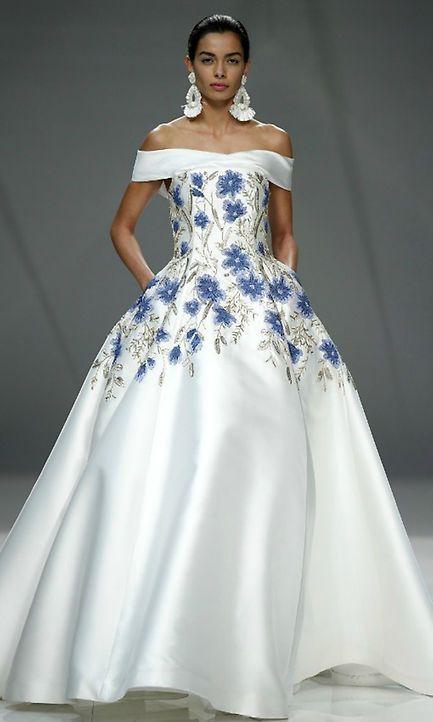 vestidos de novia de colores8 - Hermosos Vestidos De Novia De Colores Que Amaras