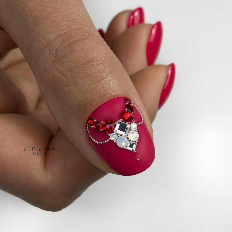 1612704766 657 40 unas deslumbrantes y delicadas con esmalte de unas azul - 40 uñas deslumbrantes y delicadas con esmalte de uñas azul claro
