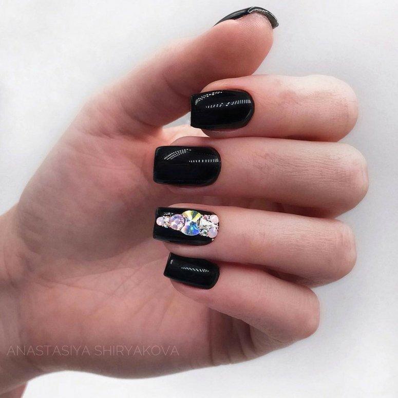 1612704767 836 40 unas deslumbrantes y delicadas con esmalte de unas azul - 40 uñas deslumbrantes y delicadas con esmalte de uñas azul claro