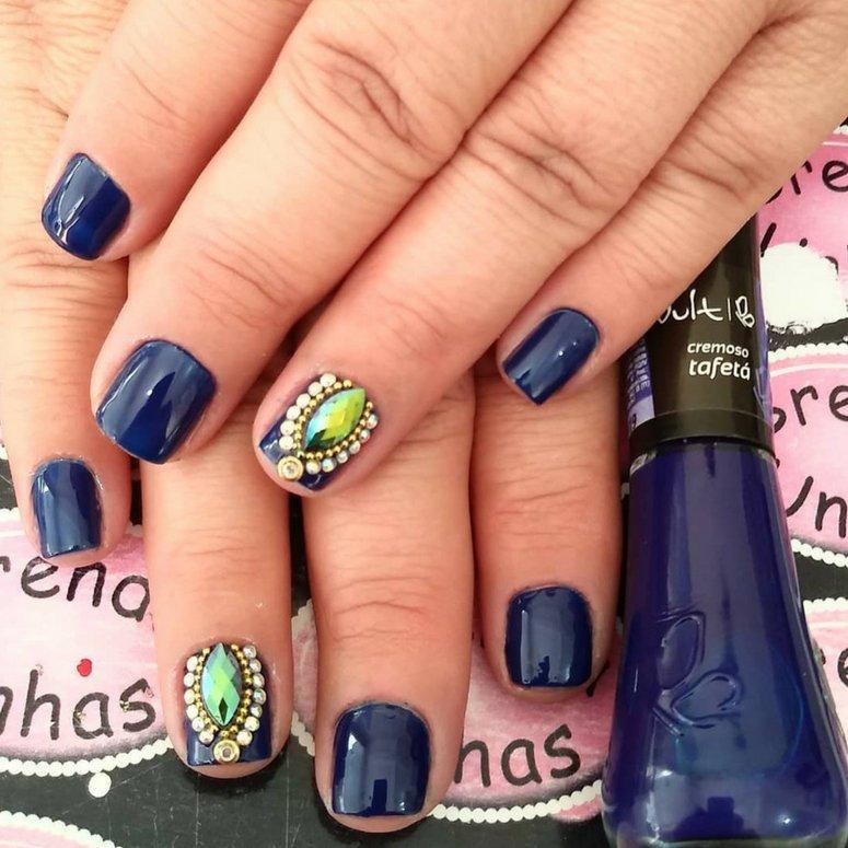 1612704767 913 40 unas deslumbrantes y delicadas con esmalte de unas azul - 40 uñas deslumbrantes y delicadas con esmalte de uñas azul claro