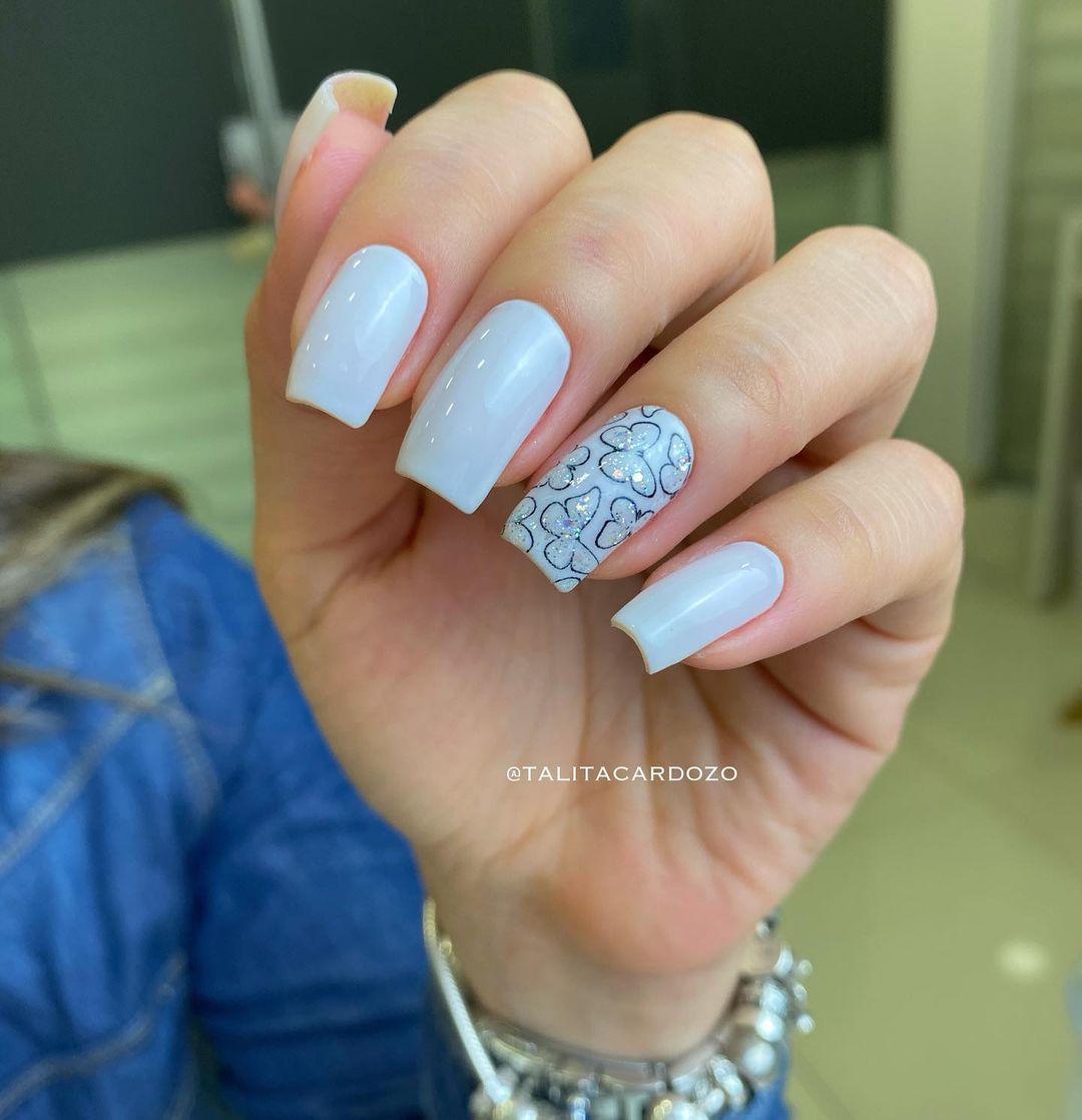 1612737285 644 30 fotos de unas en colores pastel y consejos de - 30 fotos de uñas en colores pastel y consejos de esmalte de uñas para ti