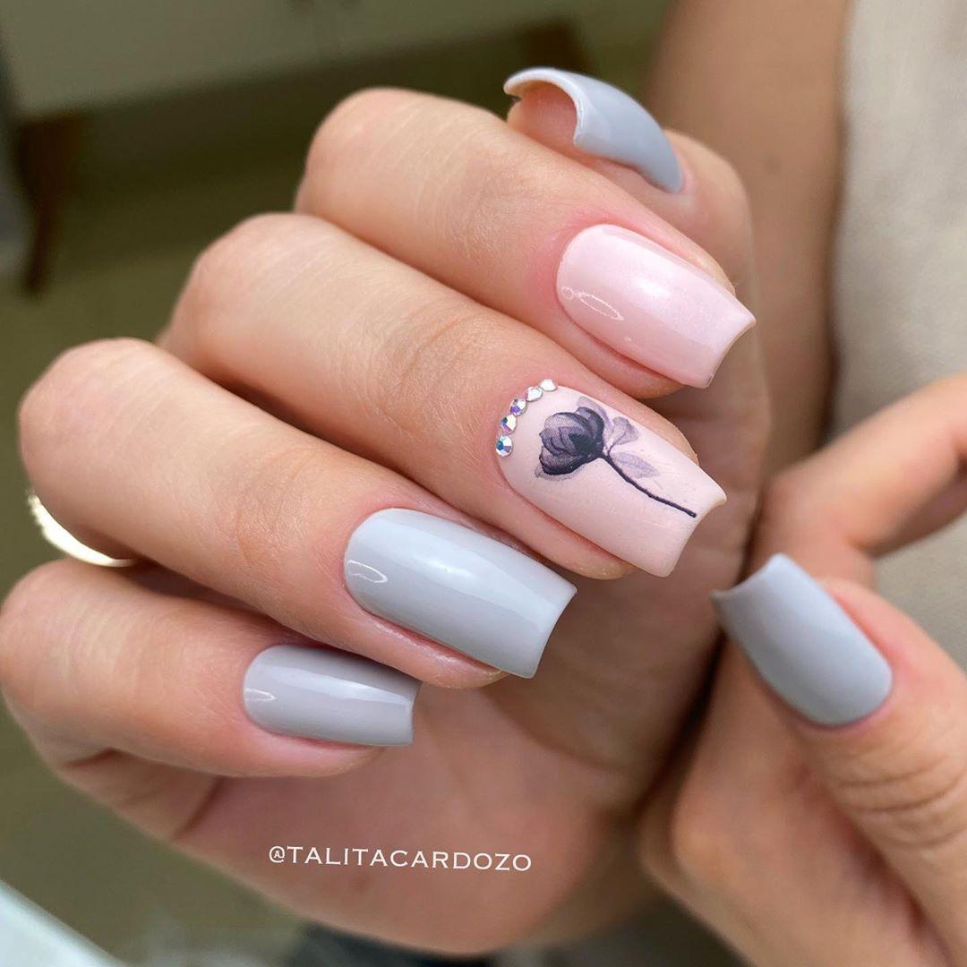1612737285 714 30 fotos de unas en colores pastel y consejos de - 30 fotos de uñas en colores pastel y consejos de esmalte de uñas para ti