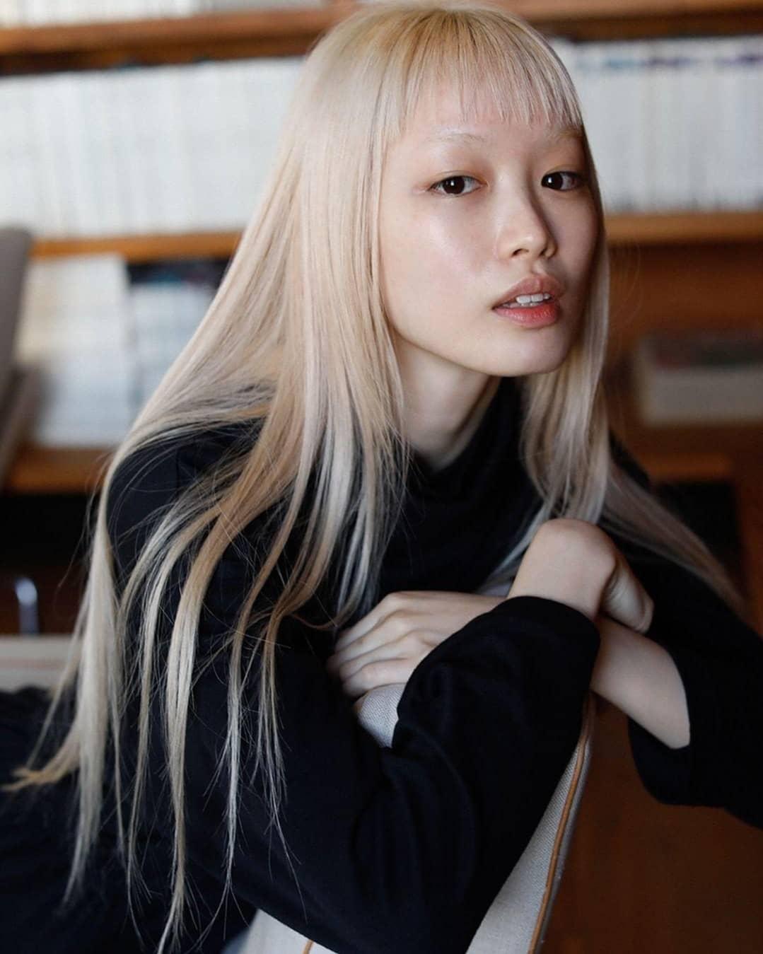 1612900053 208 25 fotos de flequillo coreano para lucir como una estrella - 25 fotos de flequillo coreano para lucir como una estrella de drama