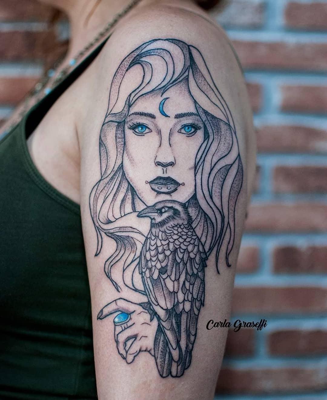 1613127931 323 60 ideas de tatuajes de ojos griegos para protegerse del - 60 ideas de tatuajes de ojos griegos para protegerse del mal de ojo