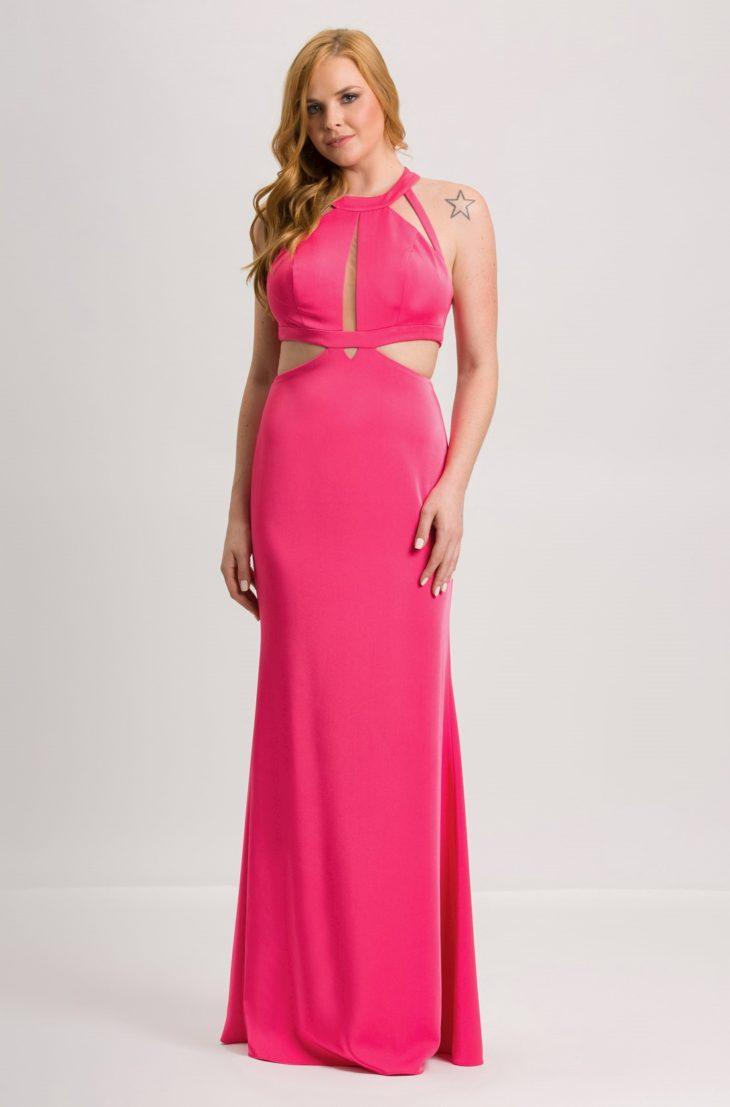 1613158070 308 32 inspiraciones de vestidos de oro rosa llenas de elegancia - 32 Inspiradores vestidos rosas llenos de elegancia y estilo
