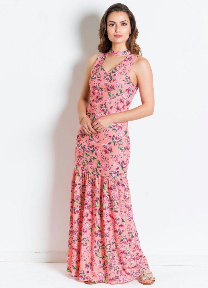 1613158074 306 32 inspiraciones de vestidos de oro rosa llenas de elegancia - 32 Inspiradores vestidos rosas llenos de elegancia y estilo