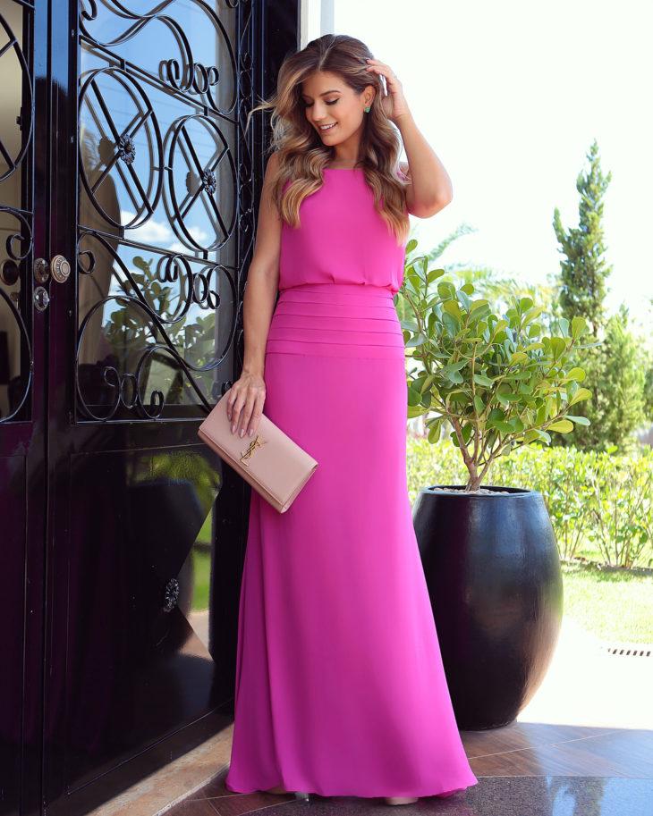 1613158074 962 32 inspiraciones de vestidos de oro rosa llenas de elegancia - 32 Inspiradores vestidos rosas llenos de elegancia y estilo