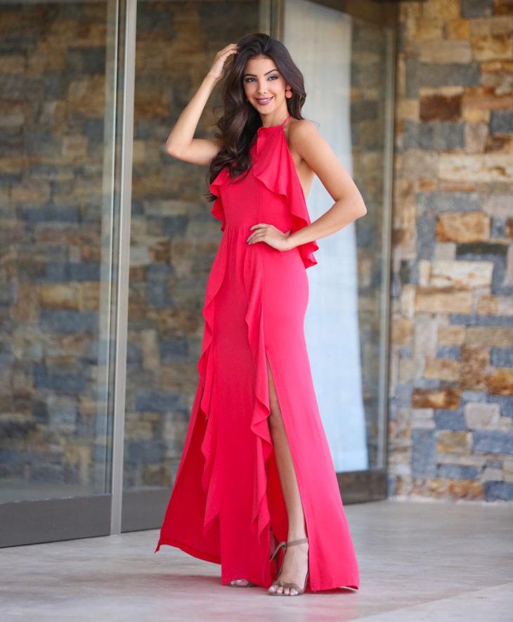 1613158077 169 32 inspiraciones de vestidos de oro rosa llenas de elegancia - 32 Inspiradores vestidos rosas llenos de elegancia y estilo