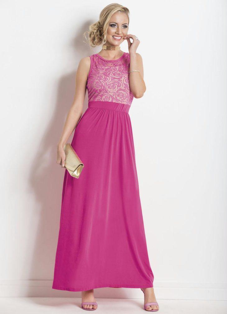 1613158077 737 32 inspiraciones de vestidos de oro rosa llenas de elegancia - 32 Inspiradores vestidos rosas llenos de elegancia y estilo