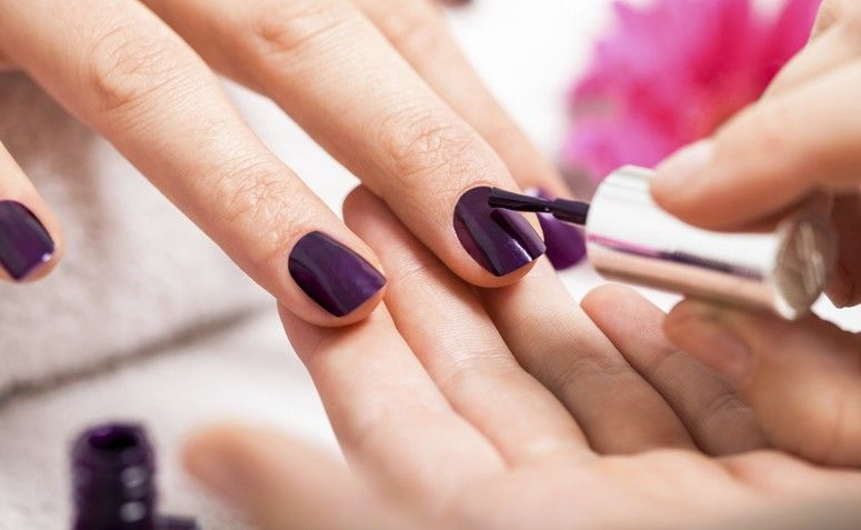 30 inspiraciones de esmalte lila que expresan toda la delicadeza - 30 inspiraciones de esmalte lila que expresan toda la delicadeza de este tono