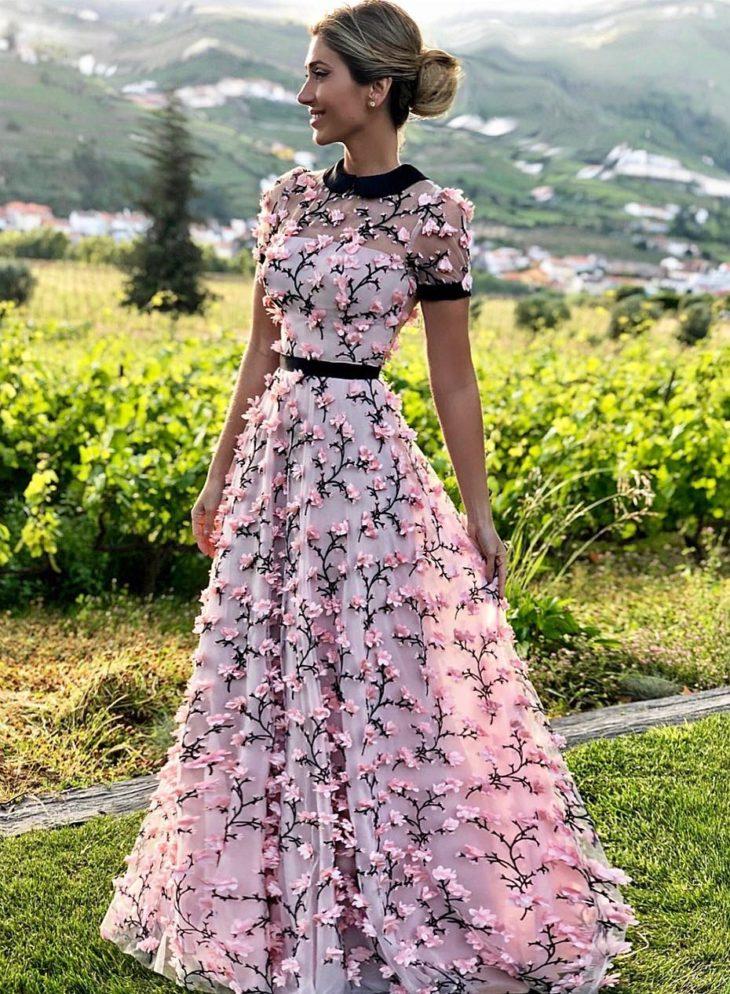 32 inspiraciones de vestidos de oro rosa llenas de elegancia - 32 Inspiradores vestidos rosas llenos de elegancia y estilo