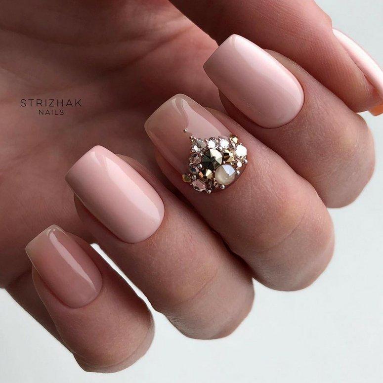 40 unas deslumbrantes y delicadas con esmalte de unas azul - 40 uñas deslumbrantes y delicadas con esmalte de uñas azul claro