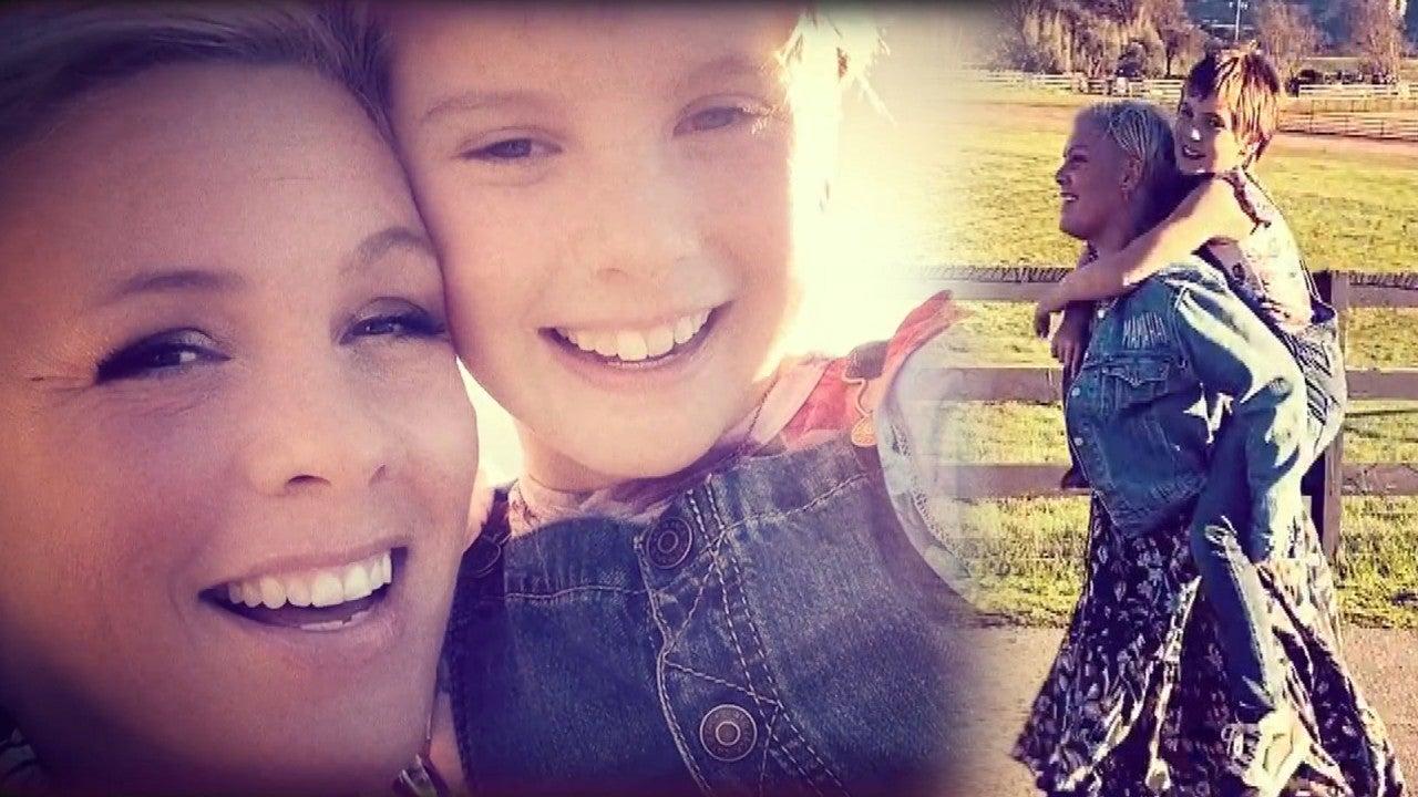 Pink y su hija Willow lanzan conmovedor dueto 'Cover Me in Sunshine'