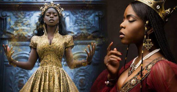 Lee más sobre el artículo Fotos llenas de fantasía muestran la belleza de la piel oscura