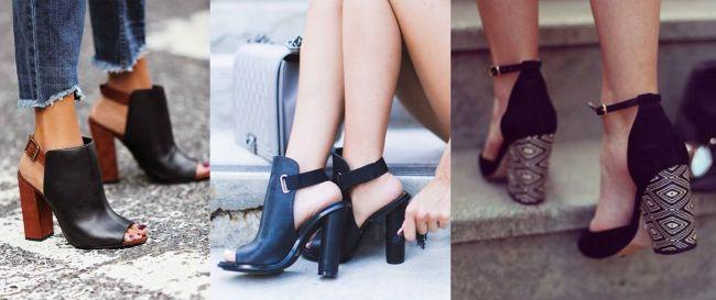 Lee más sobre el artículo Block Heel o Tacón Ancho, ¿qué es?  Cómo usar + 16 inspiraciones