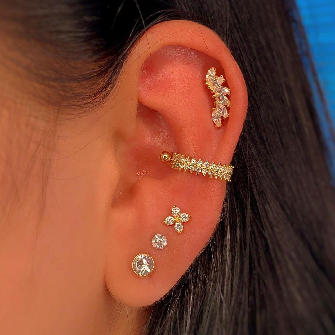 1614906206 165 15 inspiraciones de perforacion de labret y consejos para perforar - 30 fotos de piercing en orejas para querer el tuyo hoy