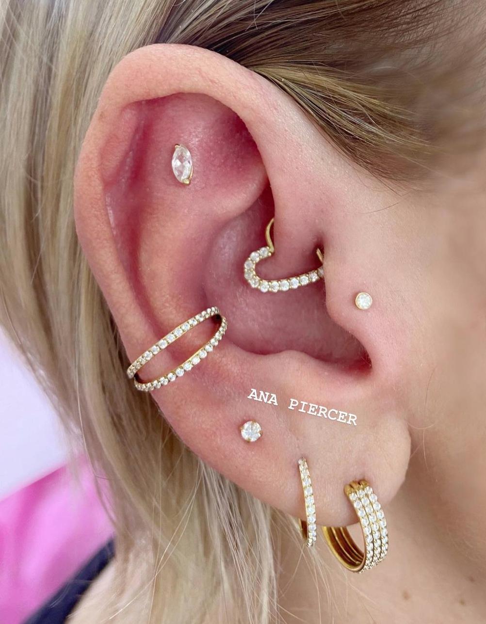 1614906207 467 15 inspiraciones de perforacion de labret y consejos para perforar - 30 fotos de piercing en orejas para querer el tuyo hoy
