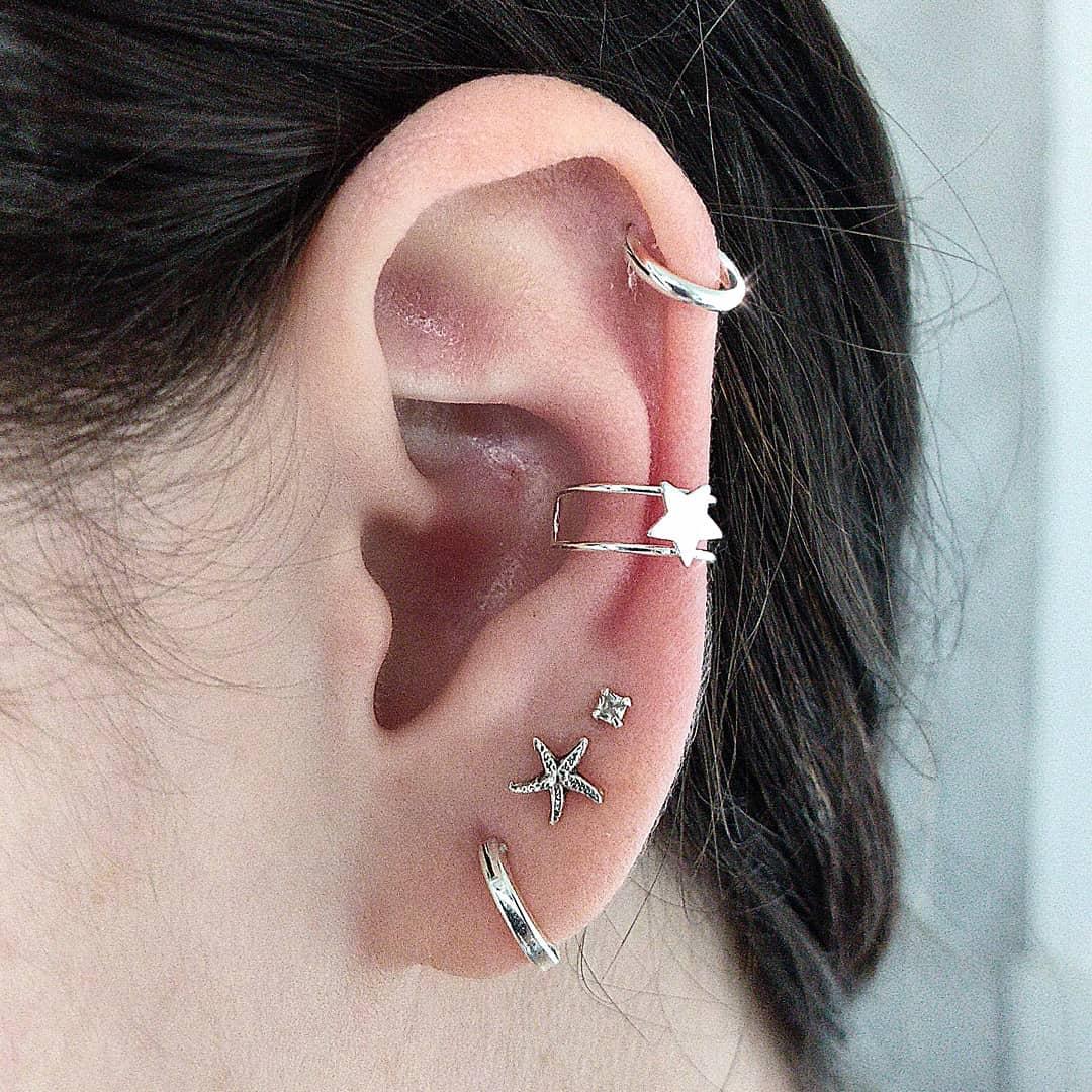 1614906213 470 15 inspiraciones de perforacion de labret y consejos para perforar - 30 fotos de piercing en orejas para querer el tuyo hoy